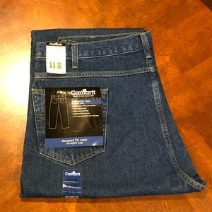 Carhartt Relaxed Fit Straight Leg Jeans 42x30 NWT
